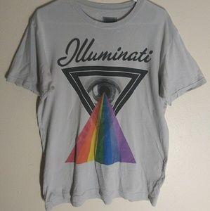 Tops - Illuminati medium t -shirt